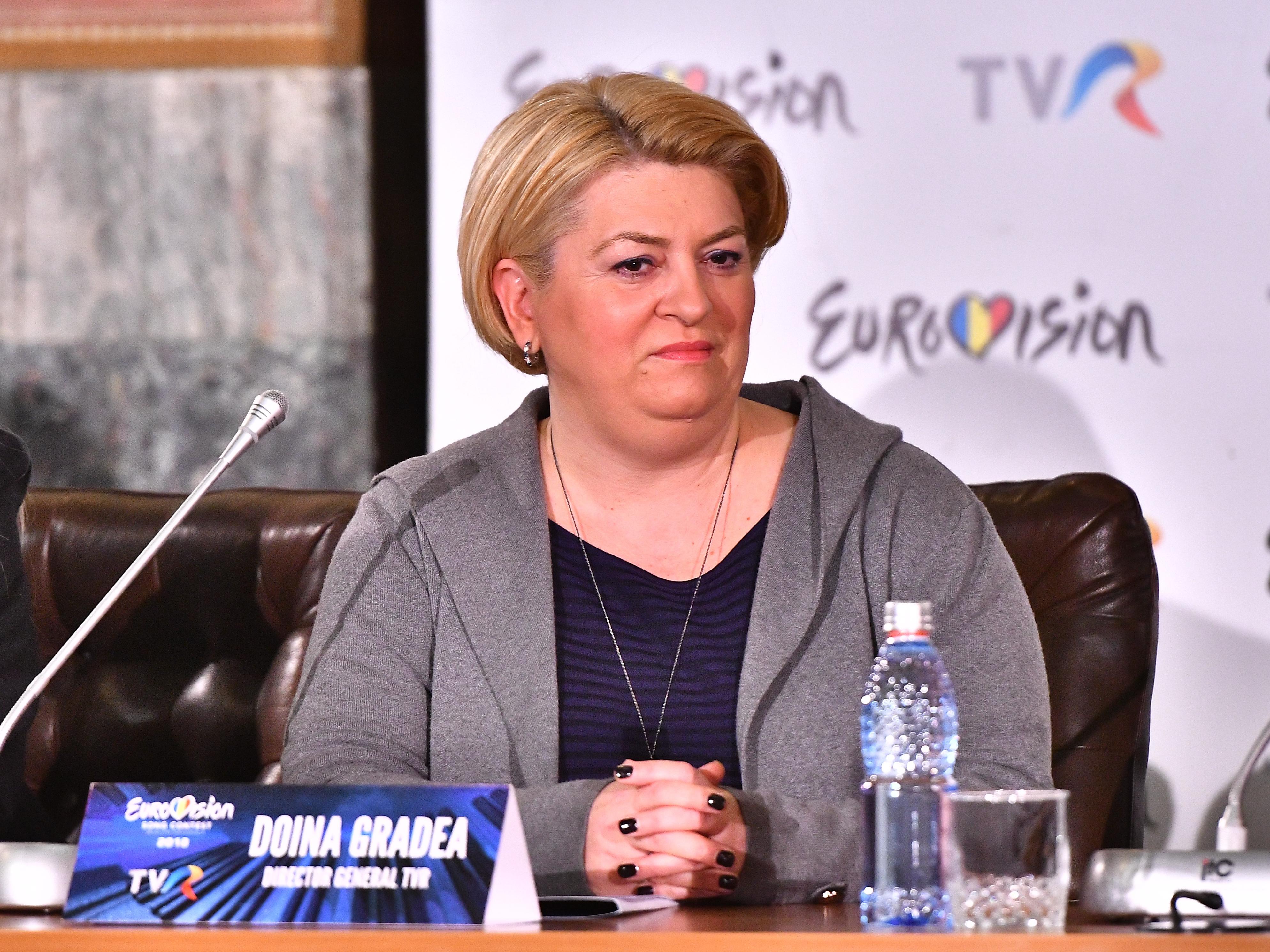 Doina Gradea, general manager of Romania's TVR