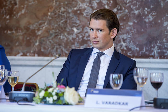 Austrian chancellor Sebastian Kurz. Credit: European People's Party/Flickr
