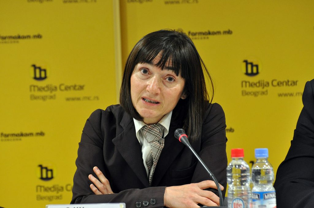Journalist Ljiljana Smajlović has been subjected to a recent smear campaign by pro-government media. (Photo: Wikipedia)